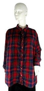Lauren Ralph Lauren Top Plaid
