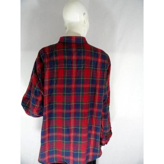Lauren Ralph Lauren Top Plaid Image 3