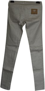 AG Adriano Goldschmied Skinny Pants Off White Combo