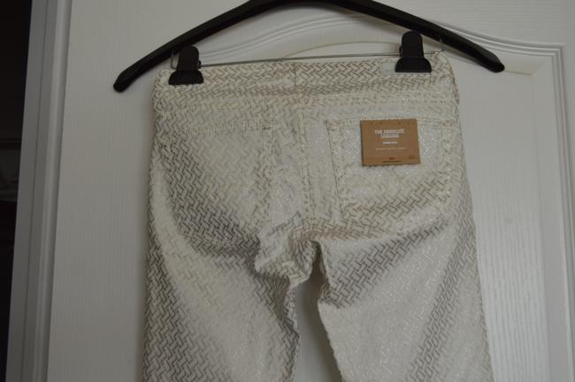AG Adriano Goldschmied Skinny Pants Off White Combo Image 3