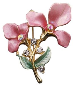 Other Lovely pink Flower Brooch