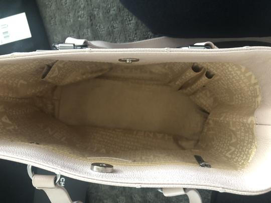 Chanel Vintage Caviar Leather Summer Tote in Pale Pink Image 3