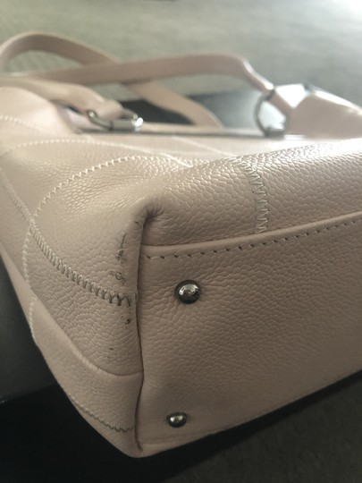 Chanel Vintage Caviar Leather Summer Tote in Pale Pink Image 6