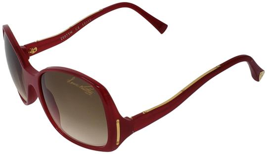 Preload https://img-static.tradesy.com/item/25577300/louis-vuitton-red-acetate-gina-glitter-sunglasses-0-3-540-540.jpg