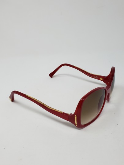 Louis Vuitton Red acetate Louis Vuitton Gina Glitter Sunglasses Image 1