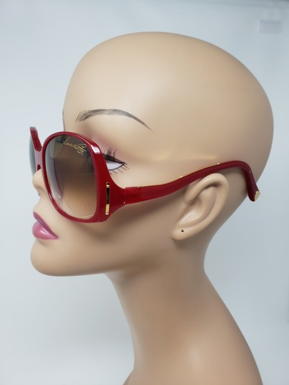 Louis Vuitton Red acetate Louis Vuitton Gina Glitter Sunglasses Image 10