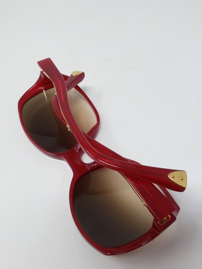 Louis Vuitton Red acetate Louis Vuitton Gina Glitter Sunglasses Image 11