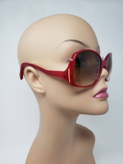 Louis Vuitton Red acetate Louis Vuitton Gina Glitter Sunglasses Image 2