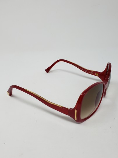 Louis Vuitton Red acetate Louis Vuitton Gina Glitter Sunglasses Image 4