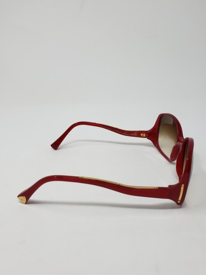 Louis Vuitton Red acetate Louis Vuitton Gina Glitter Sunglasses Image 5
