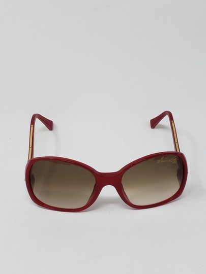 Louis Vuitton Red acetate Louis Vuitton Gina Glitter Sunglasses Image 7