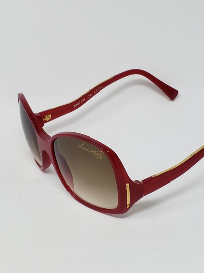 Louis Vuitton Red acetate Louis Vuitton Gina Glitter Sunglasses Image 8