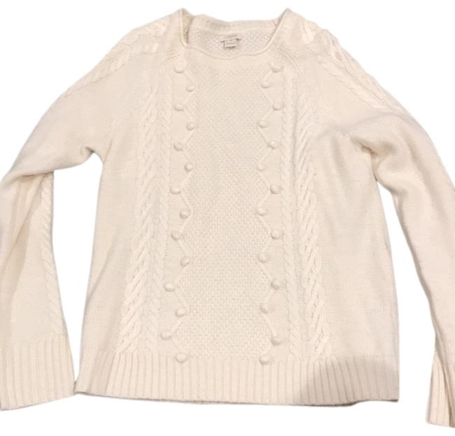 Preload https://img-static.tradesy.com/item/25577347/jcrew-cream-sweater-0-1-650-650.jpg