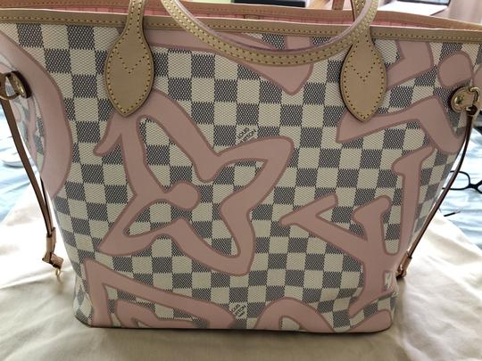 Louis Vuitton Shoulder Limited Edition New Tote in Rose Ballerine / Pink / Beige Image 1