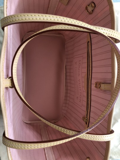 Louis Vuitton Shoulder Limited Edition New Tote in Rose Ballerine / Pink / Beige Image 5