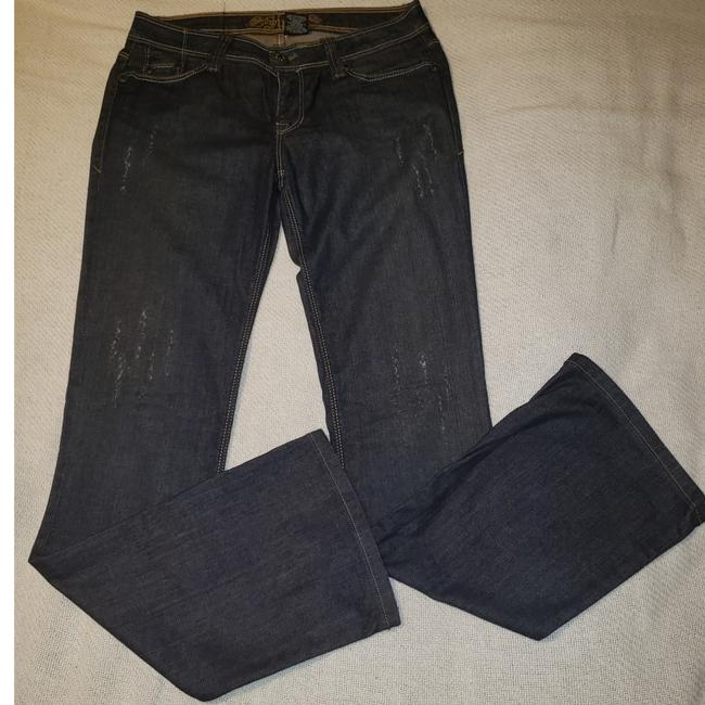 Preload https://item3.tradesy.com/images/sinful-by-affliction-blue-distressed-boot-cut-jeans-size-30-6-m-25577447-0-1.jpg?width=400&height=650