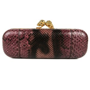 Alexander McQueen Purple Clutch