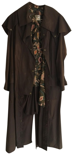 Preload https://img-static.tradesy.com/item/25577506/brown-women-s-outback-ranch-duster-water-repellent-coat-size-8-m-0-1-650-650.jpg