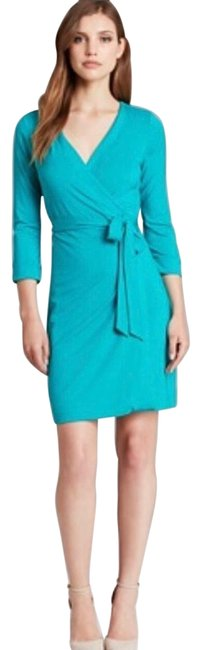 Preload https://img-static.tradesy.com/item/25577542/diane-von-furstenberg-teal-green-new-julian-two-mini-wrap-short-workoffice-dress-size-2-xs-0-1-650-650.jpg