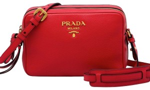 Prada Womens Cross Body Bag