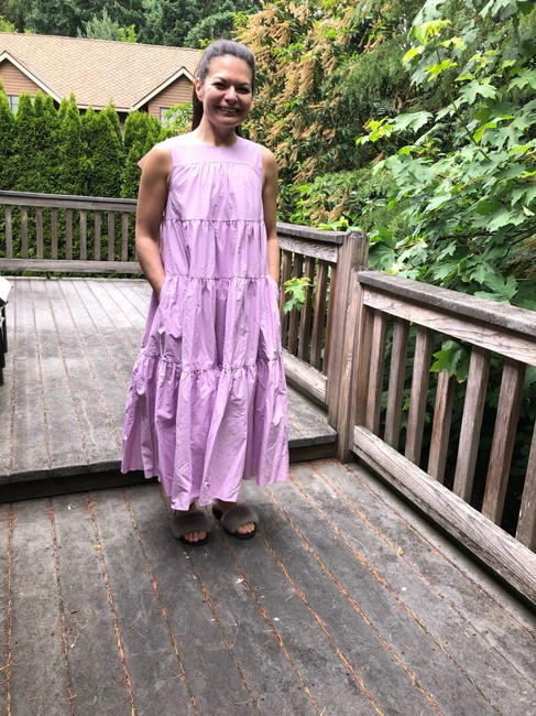orchid Maxi Dress by Co Image 10