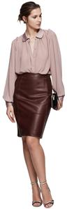 Reiss Skirt Oxblood