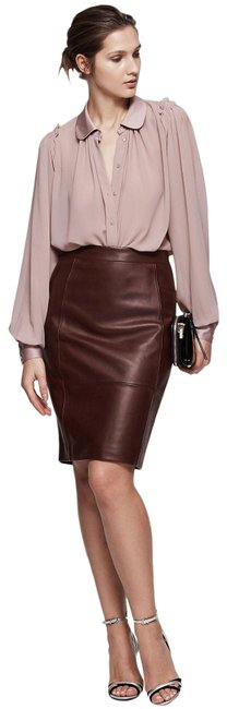 Preload https://img-static.tradesy.com/item/25577570/reiss-oxblood-new-olivia-leather-ponte-skirt-size-4-s-27-0-1-650-650.jpg