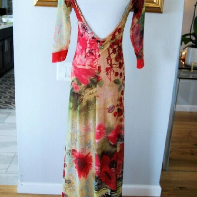 Red-Multi Maxi Dress by Save The Queen Image 1
