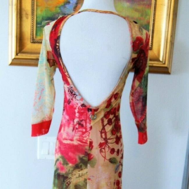 Red-Multi Maxi Dress by Save The Queen Image 3
