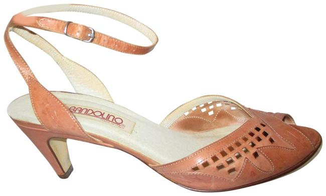 Item - Tan Vintage Ankle Strap Leather Sandals Size US 8.5 Narrow (Aa, N)