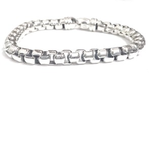 David Yurman LIKE NEW CONDITION!! David Yurman Extra Large Box Chain Bracelet
