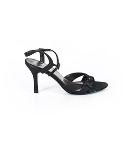e3031a8c329e White House | Black Market Satin Heels Formal Strappy Slingback Black  Sandals
