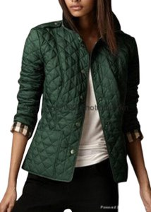 Burberry Quilted Military Jacket