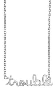 Sydney Evan SYD SYDNEY EVAN Sterling Silver Diamond Necklace