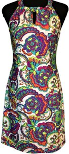 Jude Connally short dress Multi Keyhole Neck Halter A-line Summer on Tradesy