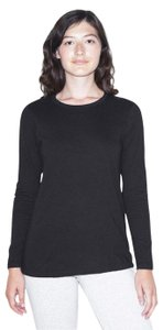 American Apparel T Shirt Black