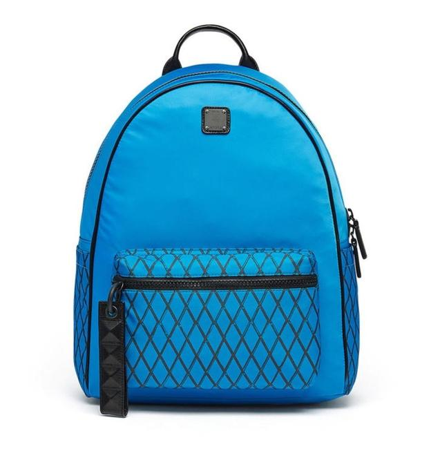 Item - New Tumbler Rombi Medium Munich Blue Water Resistant Nylon Backpack
