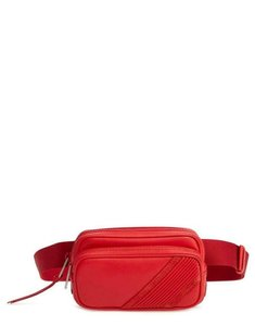 Givenchy Tinhan Leather Red Clutch