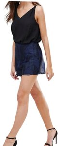 Finders Keepers Dress Shorts blue