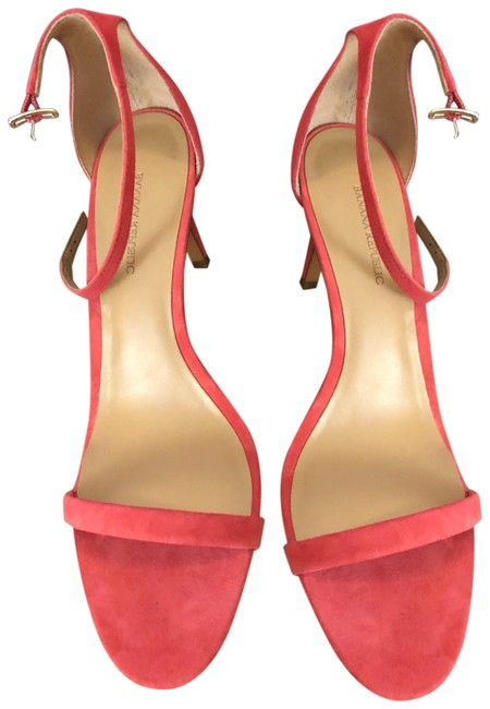 Item - Sea Coral Thin Strap Heel Formal Shoes Size US 8.5 Regular (M, B)