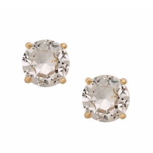 Kate Spade Kate Spade Crystal Clear Gumdrop Earrings