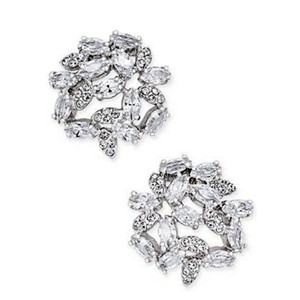 Kate Spade Kate Spade Crystal Clear Cluster Earrings