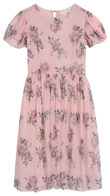 Item - Pink Canapy Holly (Little Girls) 18-24 Months Long Casual Maxi Dress Size Petite 0 (XXS)