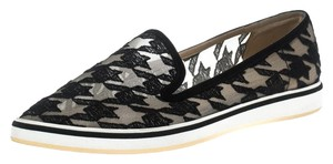 Nicholas Kirkwood Embroidered Pointed Toe Black Flats