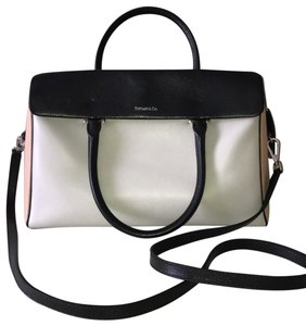 Tiffany & Co. Satchel in gray black tan