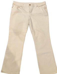Tory Burch Straight Leg Jeans-Coated
