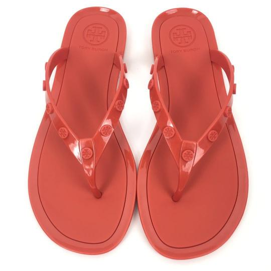 Preload https://img-static.tradesy.com/item/25581242/tory-burch-orange-jelly-studded-logo-flip-flop-samba-sandals-size-us-7-regular-m-b-0-0-540-540.jpg