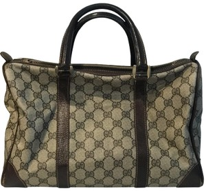 Gucci Satchel in Beige Brown