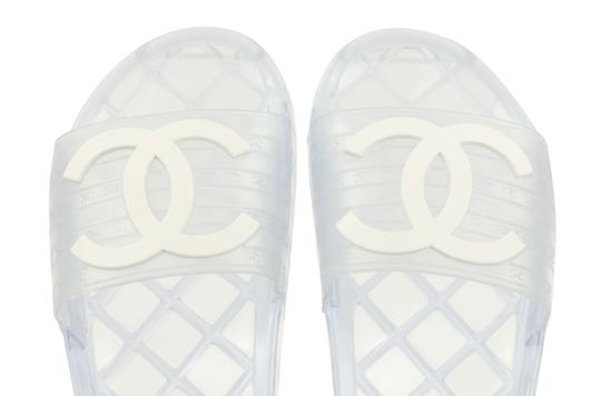 Chanel White Sandals Image 7