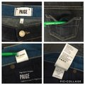 Paige Blue W 26 Jax Long In Dean Actual 29.5 X I 11.5 Denim Shorts Size 2 (XS, 26) Paige Blue W 26 Jax Long In Dean Actual 29.5 X I 11.5 Denim Shorts Size 2 (XS, 26) Image 9